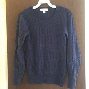 Merona wool navy sweater